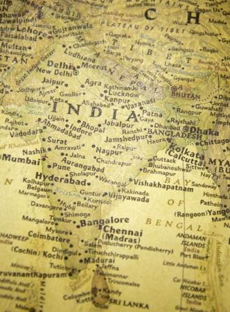agra: india map