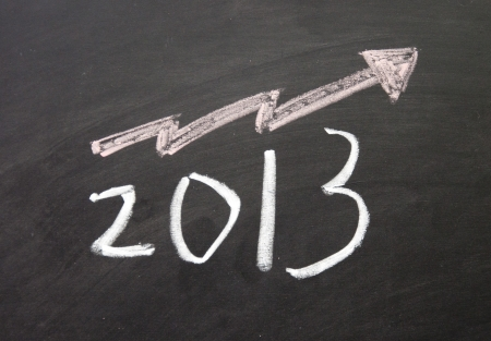 projet: Optimistic about 2013 sign