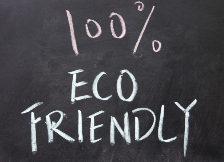 100  eco friendly title  Stock Photo - 16536498