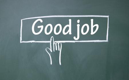 abstract finger click good job sign photo