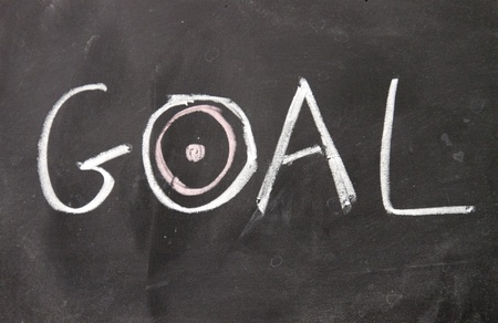goal sign photo