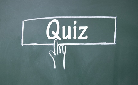 abstract finger click quiz sign Stock Photo - 16691713