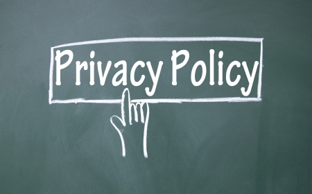 troyan: abstract finger click privacy policy sign