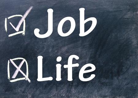 work life balance: life and job choice