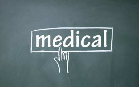 abstract finger click medical sign Stock Photo - 17205481