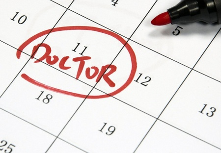 doctor sign written with pen on paper