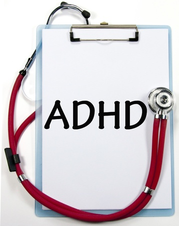 ADHD diagnosis sign photo