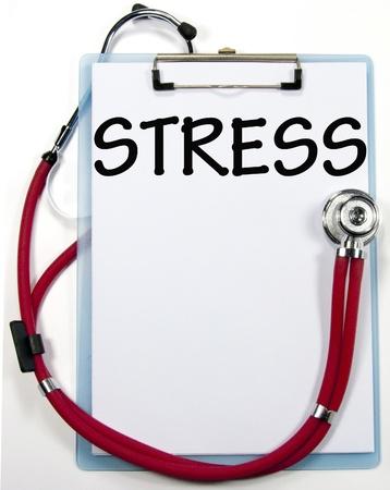 stress diagnosis sign  Standard-Bild