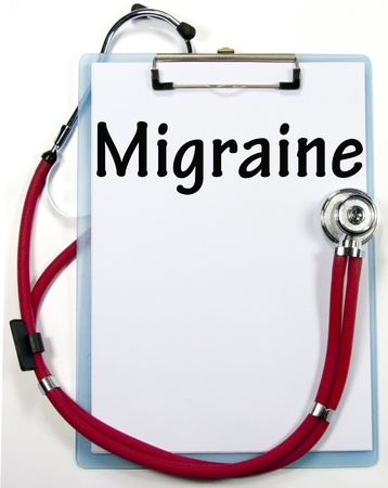 migraine diagnosis sign  photo