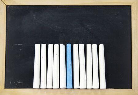 lacunae: chalk and blackboard