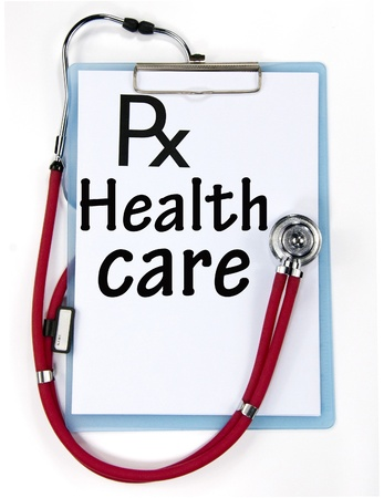 health care sign  Stock Photo - 18815440
