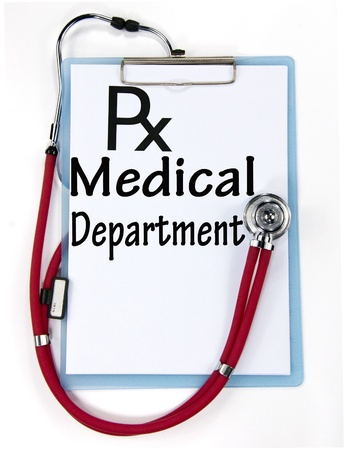 medical department sign  photo