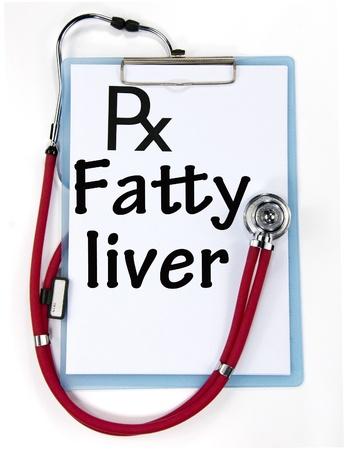 fatty liver sign Stock Photo - 18815319