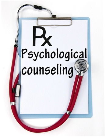 psychological counseling sign Stock Photo - 18815429