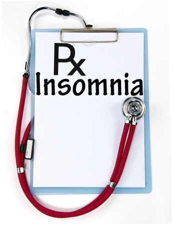 Insomnia sign  photo