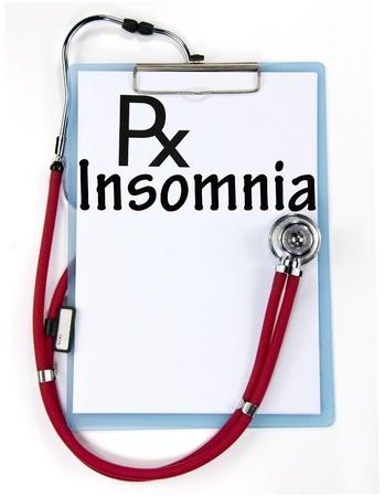 insomnia: Insomnia sign