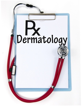 dermatology sign  Stock Photo - 18847255