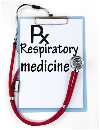 respiratory medicine sign  Stock Photo - 18847100