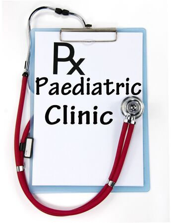 paediatric clinic sign  photo