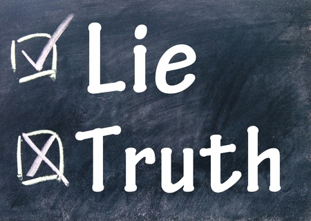 truth and lie choice photo