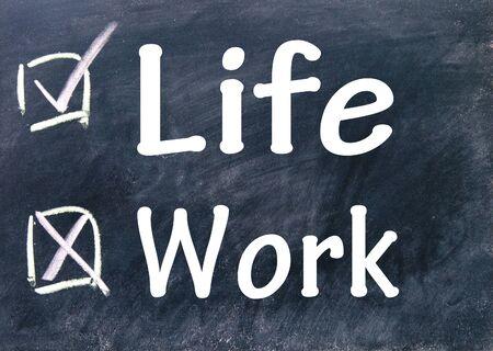 life and work choice photo