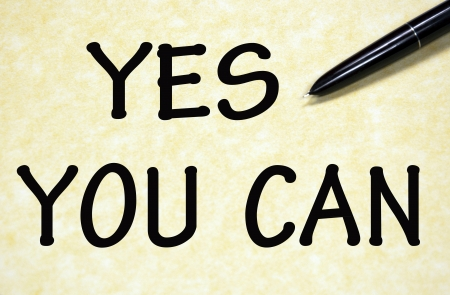 yes you can title written with pen on paper