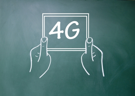 4G sign  photo