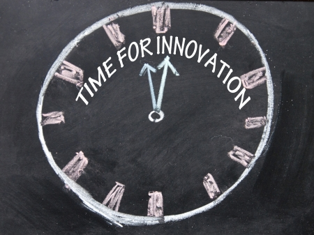 time for innovation clock  photo