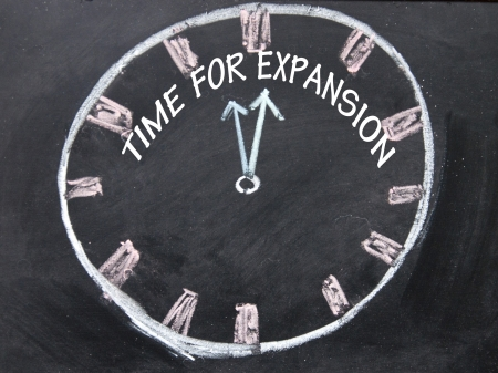 time for expansion clock