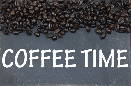 coffee time sign photo