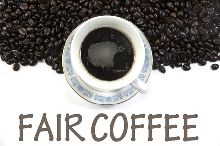fair coffee sign photo