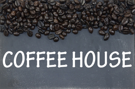 coffee house sign photo