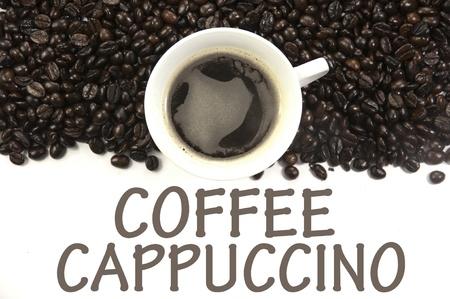 coffee cappuccino sign photo