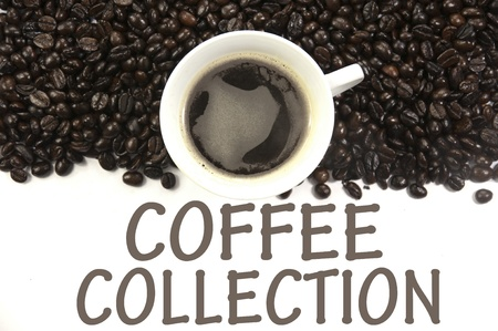coffee collection sign photo