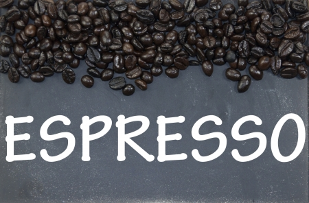 espresso sign photo