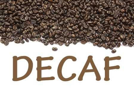 decaf: decaf sign