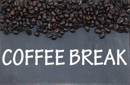 coffee break sign photo