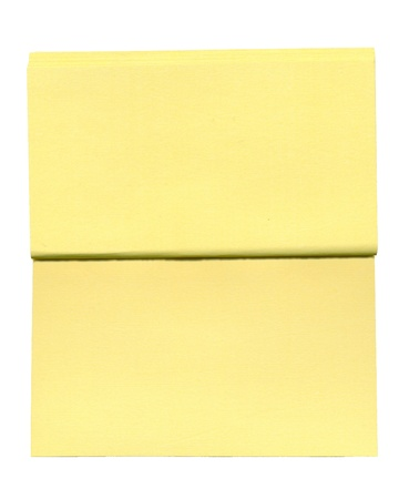 blank paper note photo