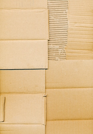 packaging board and cardboard  photo