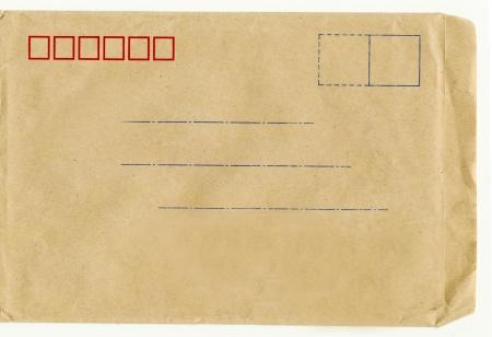 lacunae: blank envelope