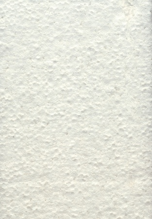 styrene: white foam background Stock Photo