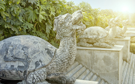 china turtle stone carving photo