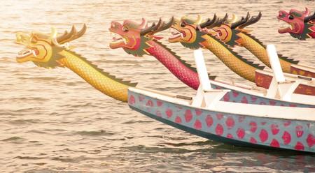 Dragon Boat Standard-Bild
