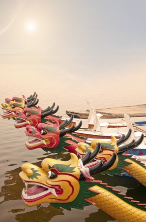 Dragon boat  photo