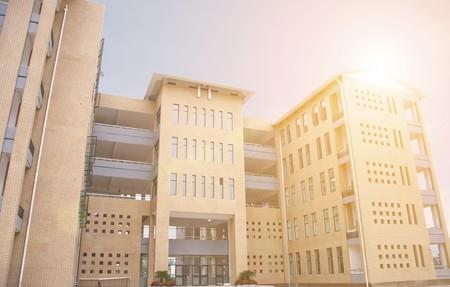 school gebouw