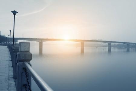 armrest: bridge  Stock Photo