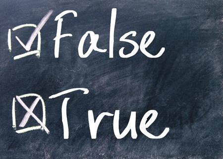 answer approve of: true or false choice on blackboard