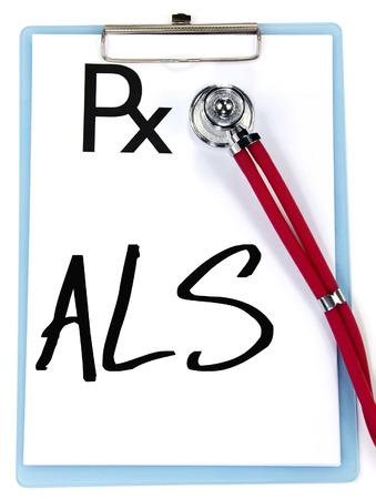 gehrig: ALS word write on paper
