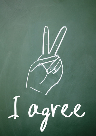 agree: I agree sign on blackboard