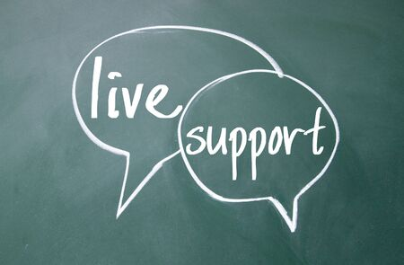discourse: live support sign on blackboard
